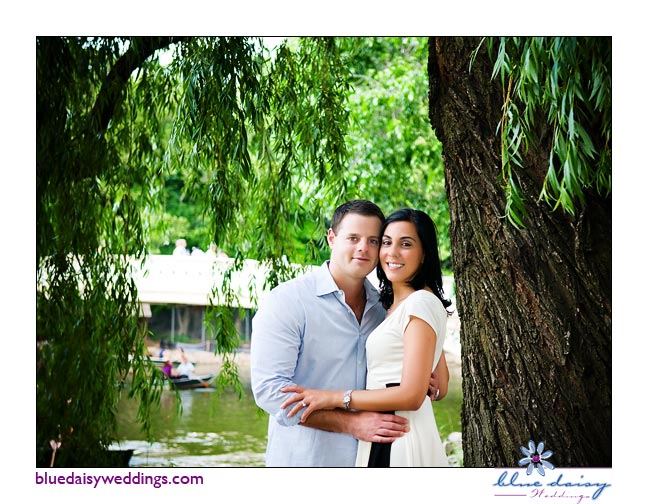 Central Park summer engagement session in Manhattan, New York City