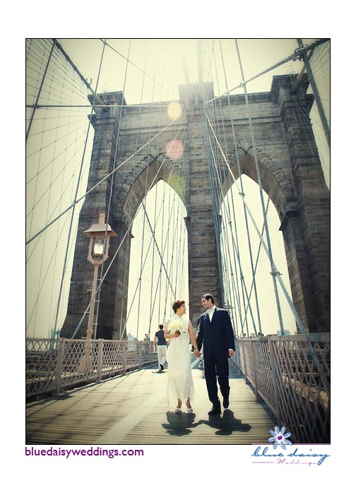 New York City elopement on 8/8/8
