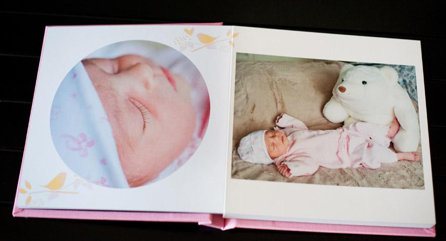 baby album, newborn & kids photo albums by children's photographer ...