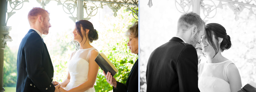 Central Park wedding at the Ladies Pavilion NYC