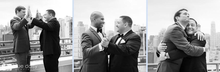 Upper East Side NYC groom and groomsmen