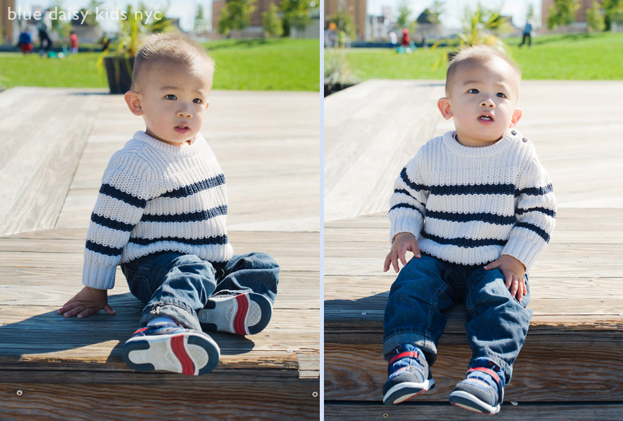 LIC toddler boy portrait