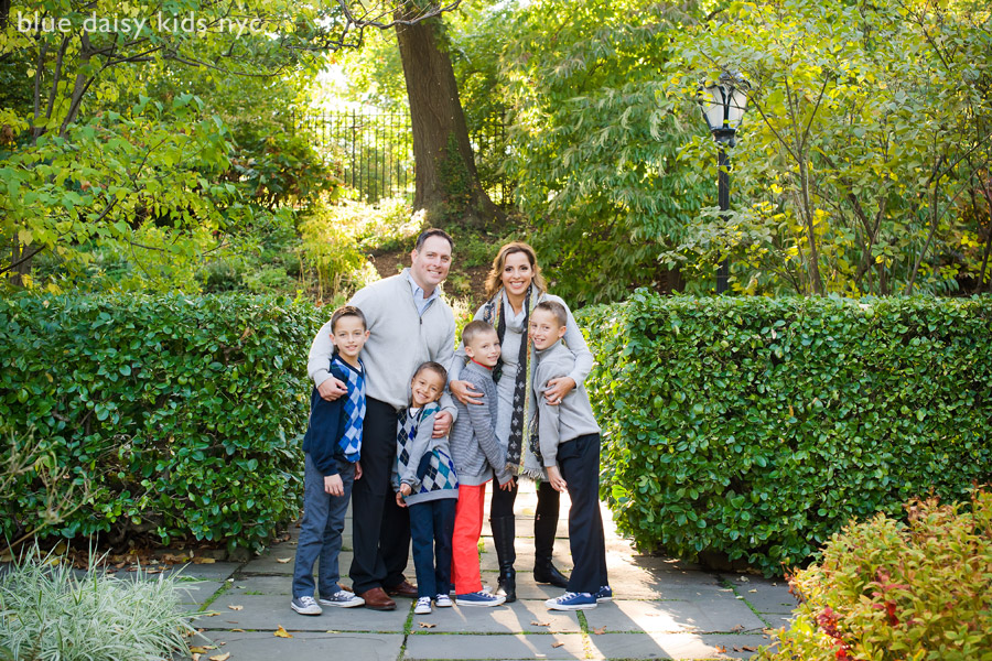 Central Park NYC family portraits