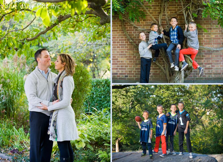 Central Park family portraits