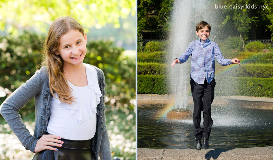 Conservatory Garden Central Park kids portrait photographer