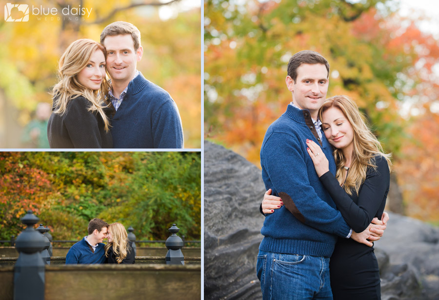 NYC Central Park engagement portrait