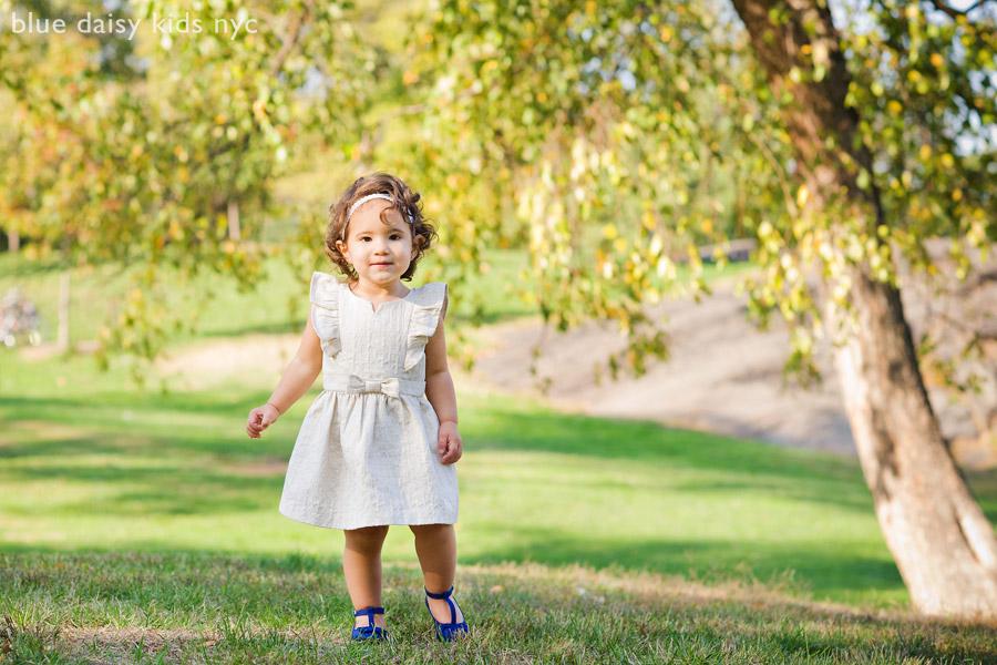 toddler girl portrait Central Park NYC