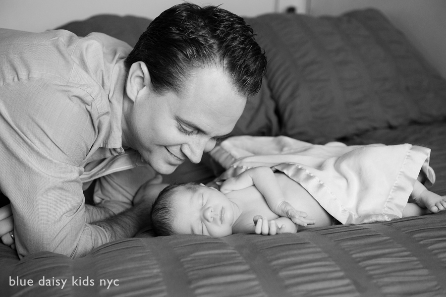 Greenwich Village NYC newborn portraits
