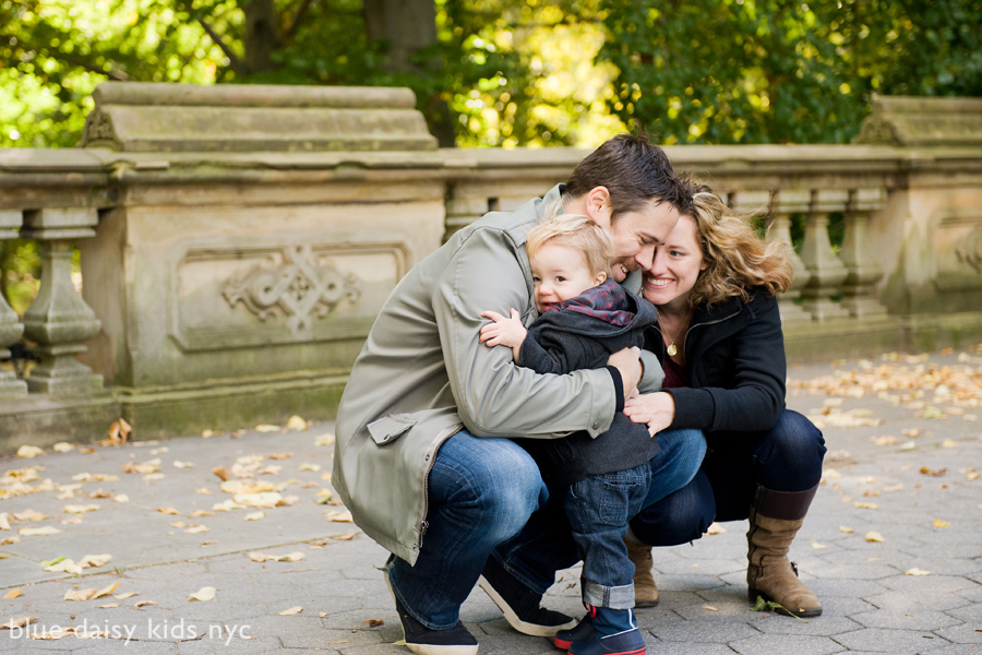 Central Park fall family portraits