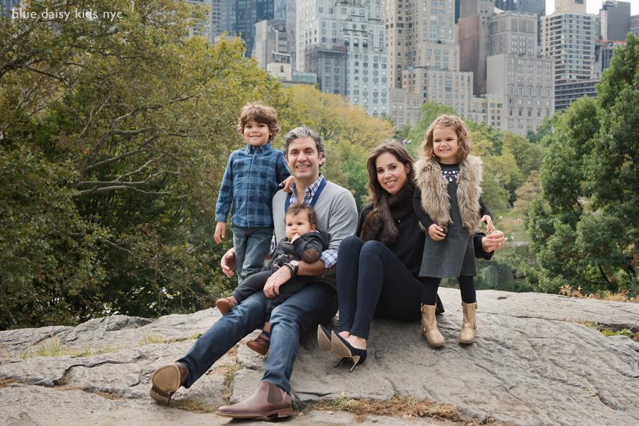 Gapstow Bridge NYC family photos