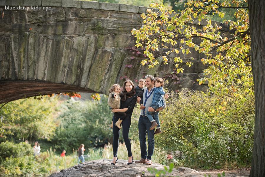 Gapstow Bridge NYC family photographer
