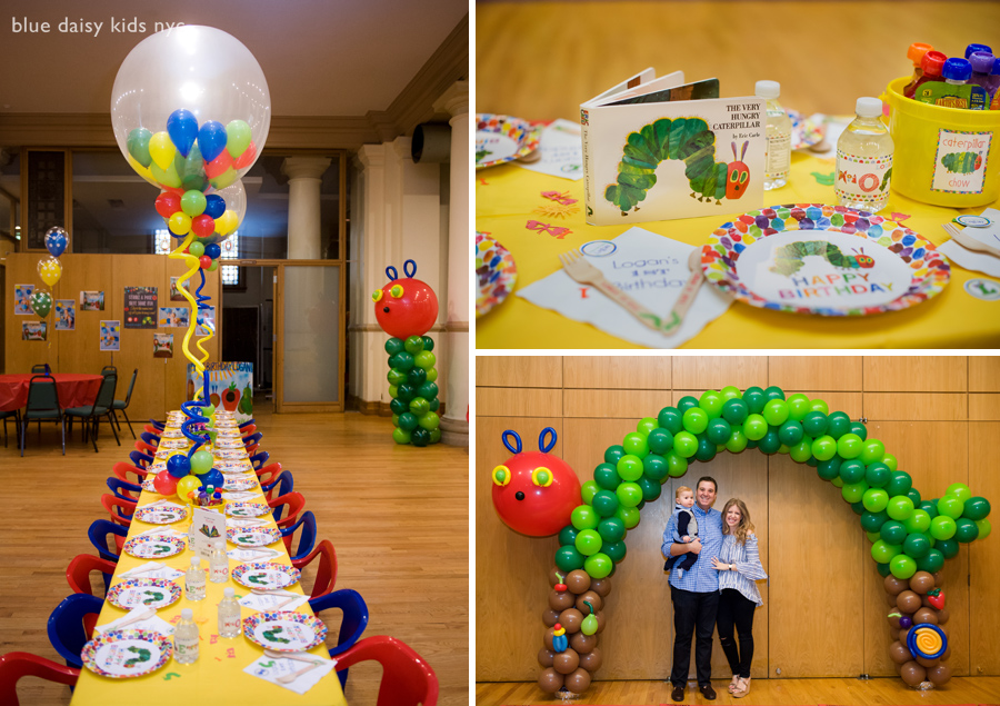 Hungry little caterpillar birthday party photos