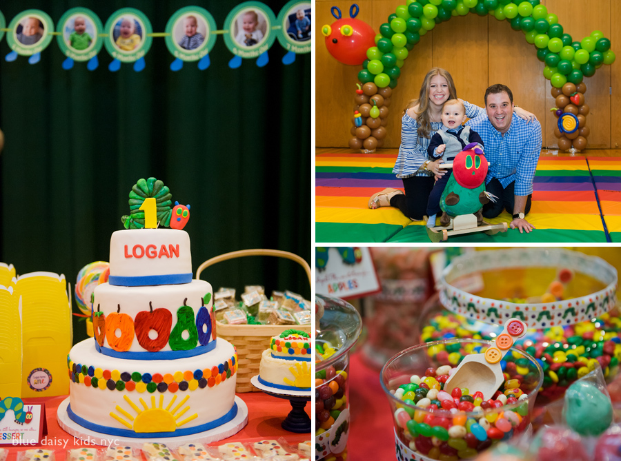 Hungry little caterpillar birthday cake photos