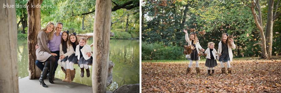 Strawberry Fields, Central Park family portraits