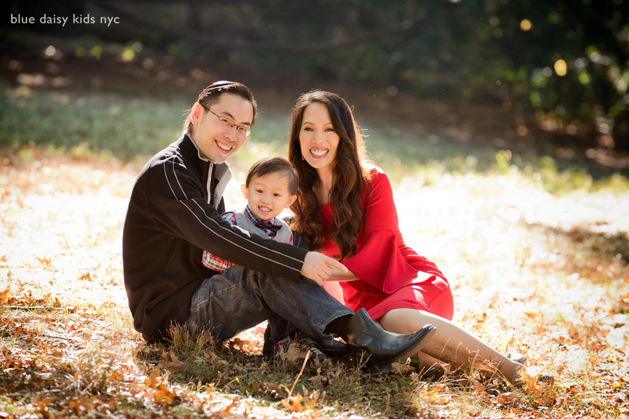 Fort Tryon Park family portraits