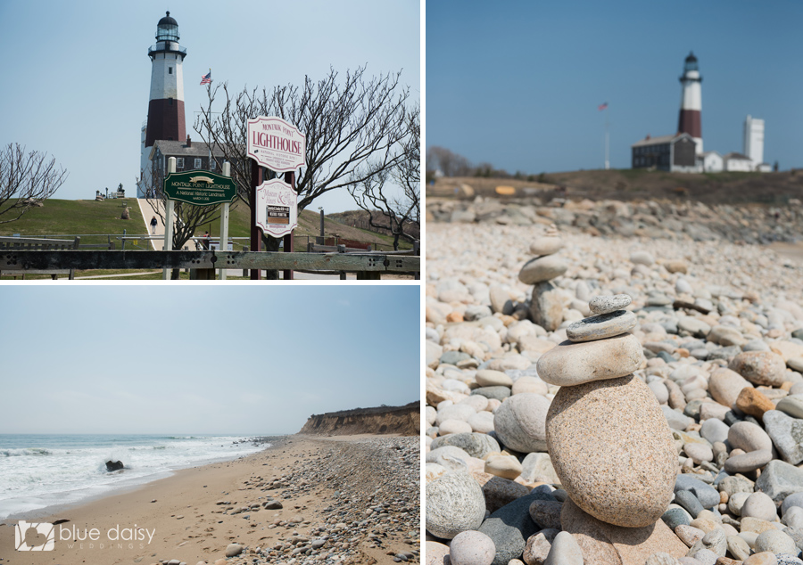 Montauk lighthouse surprise proposal